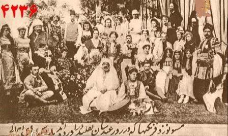 تاریخ مزدوران بیگانه در ایران