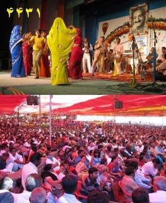 مراسم مهر بابا در هندوستان