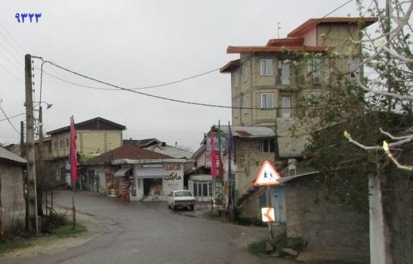 جنگ ظهور سقوط امپراطوری روستا - خیابان اصلی روستای چلاسر