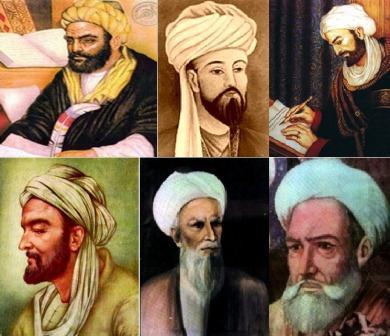Image result for عکس های حافظ و سعدی و فردوسی و ابن سینا