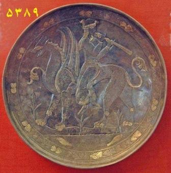 آثار ساسانی موزه مجازی ارگ ایران