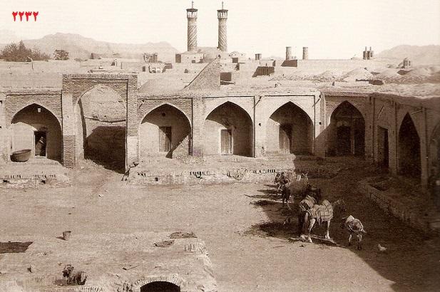 تاریخی کاروانسرای تهران