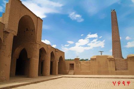مسجد بزرگ تاریخی تاریخانه شهر دامغان