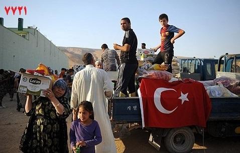 کمک های دولت ترکیه به ترکمنان تلعفر