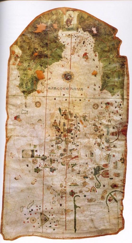 نقشه جان دی لاکوسا از آمریکا